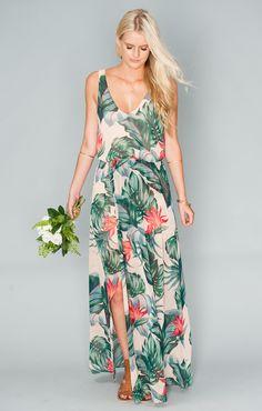 Show Me Your Mumu Tropical Bridesmaid Dresses