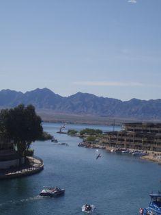 Lake Havasu, Arizona; where my daughter was born.