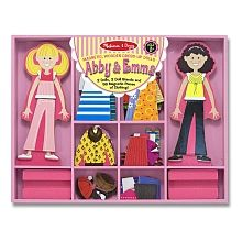 "Melissa & Doug - Ensemble de tenues magnétiques Abby & Emma - Melissa & Doug - Toys""R""Us"
