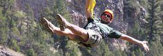 Feel the Freedom! Gallatin River Zip, near Yellowstone Park
