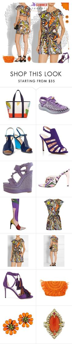 """The Cutest Summer Sandals"" by yours-styling-best-friend ❤ liked on Polyvore featuring Tory Burch, Keen Footwear, Emilio Pucci, SJP, Balenciaga, Jimmy Choo, Cathy Waterman, Summer and summersandals"