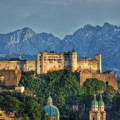 Hohensalzburg Castle. Photo courtesy of johanes74 on Instagram.