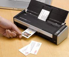 Fujistu ScanSnap S1300 love my new tiny desktop scanner... i will be paper-free is it kills me!