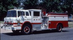 DCFD 1971 FORD C/WARD LaFRANCE 750/500 PUMPER SLIDE