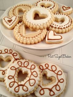 weeheartfood:    Cute, decorated sugar cookies