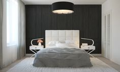Like this oversized lighting fixture - Four Homes With Four Different Takes on Integrated Storage