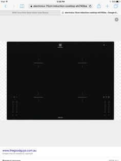Electrolux 75cm induction cooktop EH1745BA $1687