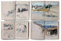 The coasts | Albrecht Rissler's Drawing Landscape