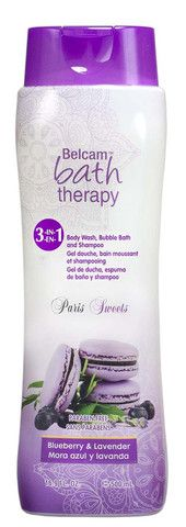 PARABEN FREE! Belcam - Belcam Bath Therapy Paris Sweets 3-in-1 Body Wash, Bubble Bath and Sha | www.belcamshop.com