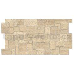 Obkladové 3D PVC panely rozmer 980 x 498 mm ukladaný kameň svetlý Vinyl Wall Panels, Pvc Panels, Dundee, Modern Wall Paneling, Classic Building, Stone Panels, Faux Brick, Make Design, Building Materials