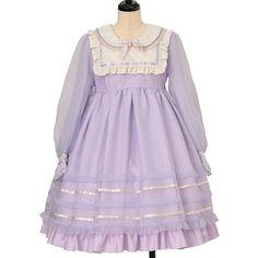 Angelic Pretty, Kawaii Fashion, Two Hands, Gothic Lolita, High Fashion, Paisley, One Piece, Sweet, Clothes
