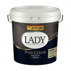 Jotun Lady Pure Color i en liters spand Ikea Living Room, Living Room Green, St Pauls Blue, Jotun Lady, Paint Buckets, Deco Blue, Kitchen Room Design, Pallet Painting, Lush Garden
