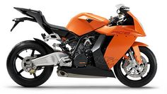 KTM'S Latest superbike better known as the RC8*•