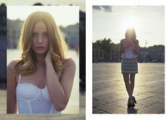 H White Corset, Zara Aztec Skirt
