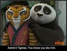 Resultado de imagen de kung fu panda  po and tigress