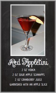 Red Appletini