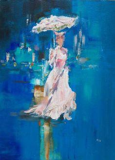 "Saatchi Art Artist OSCAR ALVAREZ; Painting, ""LM-5"" #art"