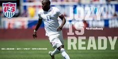 #AreYouReady for #USAvBEL? @JozyAltidore is Ready and available for @J_Klinsmann and the #USMNT tomorrow! 6-30-14