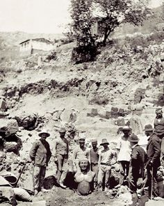 One of the great moments in the rich archaeological history of Greece - the discovery in 1893 at Delphi of the archaic statue, Biton.