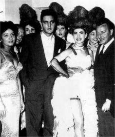 Elvis in Paris at the Lido night club in june 1959.