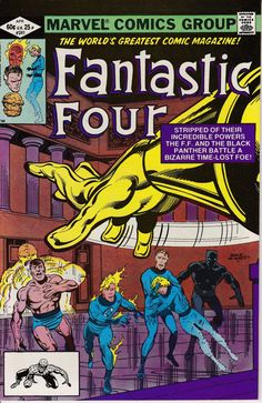 Fantastic Four 241  April 1982 Issue  Marvel Comics by ViewObscura