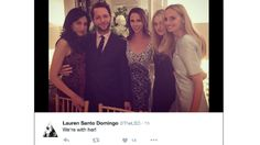Barbara Bush snaps pics with Huma Abedin, tagged 'we're with her' | TheHill