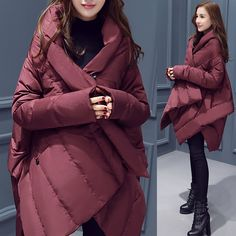 2016 New Arrival European Style Brand Parka Winter Jacket Coat Women Down Parka Hot Selling Cloak Warm Overcoat Female GQ1545
