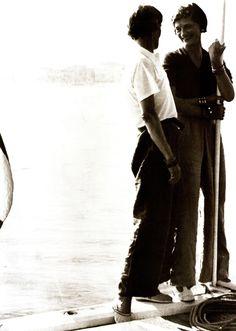 Coco Chanel et son amie Marthe Davelli, vers 1925.