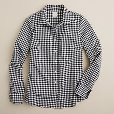 gingham shirt from J. CREW