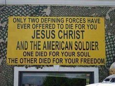 Amen to both.