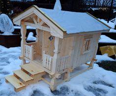 Small garden house.