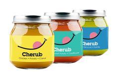 Cherub Food (alimentation pour bébés) I Design : Me + James Studio, Londres, Royaume-Uni (janvier 2017)
