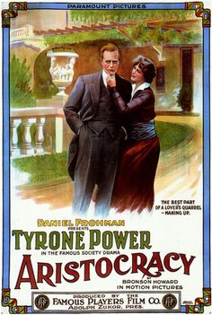 """Aristocracy - Tyrone Power Sr. (1914) was also the father of the actor Tyrone Power Jr. from the movie """"The Black Swan"""""""