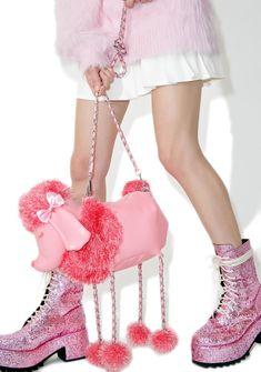 Sugarbaby Poodle Party Bag Window Shopper, Leopard Purse, Frou Frou, Mini Heart, Mini Handbags, Mini Purse, Look At You, Blue Bags, Festival Fashion