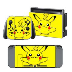 Pikachu Nintendo switch skin for Nintendo switch lite console. Choose your favorite design from a huge range of Nintendo switch skins collection for Nintendo Switch Console. Mario Kart 8, Pikachu, Pokemon, Console, Buy Nintendo Switch, Nintendo Switch Accessories, Xbox One Skin, Ps4 Skins, Xbox Controller