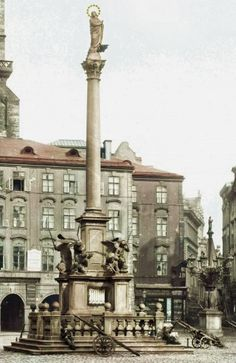 Mariánský sloup v Praze. - klikněte pro zobrazení detailu Lanai, Historia