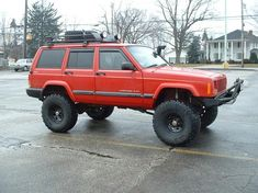 2001 Jeep Cherokee Lifted... I will do this to mine one day