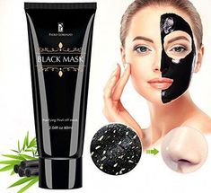 #AvocadoFaceMask Blackhead Peel Off Mask, Blackhead Remover, Homemade Face Masks, Diy Face Mask, Masque Peel Off, Peel Off Maske, Charcoal Mask Benefits, Skin Tightening Mask, Avocado Face Mask