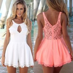 Womens Sexy Bodycon Romper Celeb LACE Sleeveless Clubwear Dress Jumpsuits Shorts in Clothing, Shoes & Accessories, Women's Clothing, Jumpsuits & Rompers | eBay