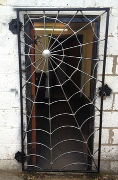 You can get a spider web gate custom made by & of Metal& in the UK. You can get a spider web gate custom made by & of Metal& in the UK. The post Cool! You can get a spider web gate custom made by & of Metal& in the UK. Metal Welding, Diy Welding, Welding Table, Welding Ideas, Cool Welding Projects, Welded Metal Art, Welding Design, Metal Projects, Metal Crafts