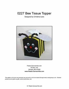 BEE TISSUE TOPPER 1