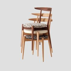 Forms Upholstered Stackable Chair- Save space without sacrificing design and comfort with these stackable chairs available in three beautiful wood options.
