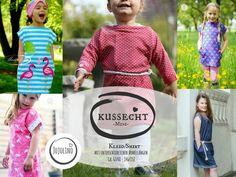 eBook Kussecht Mini - Kleid/Shirt Gr. 62/68 - 146/152 - Nähanleitungen bei Makerist