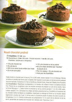 Ma Cuisine en Tupperware - Yaël: RECETTES AU CHOCOLAT