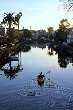 Canals, Venice Beach, California, USA