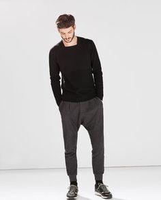 STRUCTURED SWEATER-Patterned-Knitwear-MAN | ZARA Spain