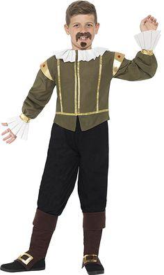Amazon.com: Shakespeare Costume for Kids: Clothing