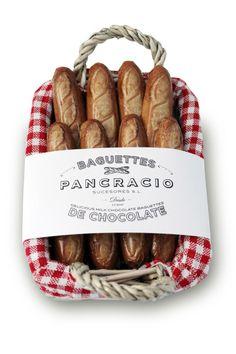 Baguettes de chocolate, de Pancracio