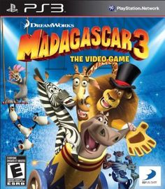 Madagascar The Video Game (Nintendo Wii) Latest Video Games, Video Games Xbox, Xbox 360 Games, Playstation Games, Madagascar 3, Video Game Reviews, Mini Games, Dreamworks, Nintendo Wii