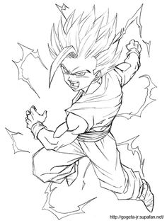 How To Draw Goku Super Saiyan